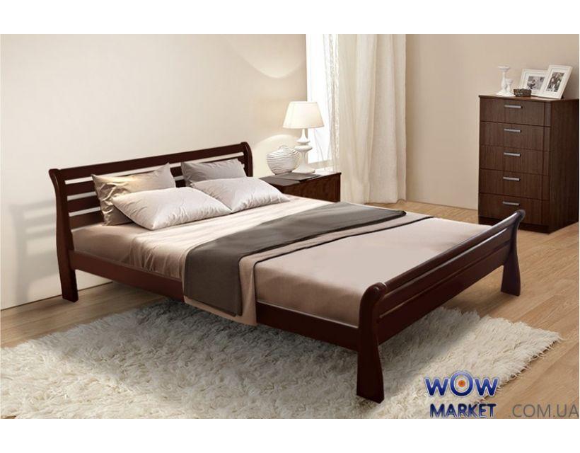 Кровать двуспальная Ретро 160х200см Микс-Мебель Элегант