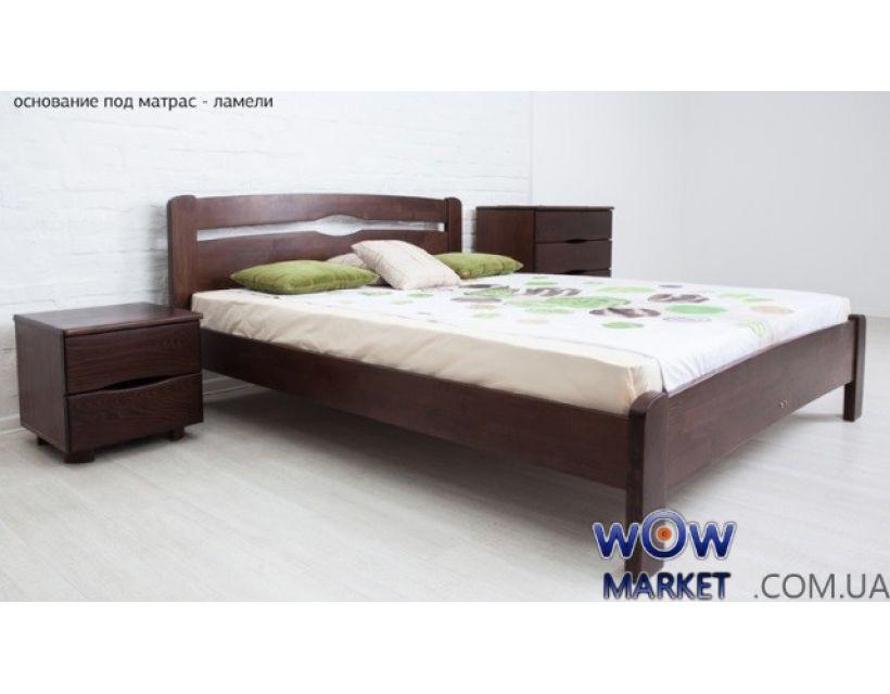 Ліжко односпальне Кароліна 80 (90) х 200 см без ізножья Мікс-Меблі Марія