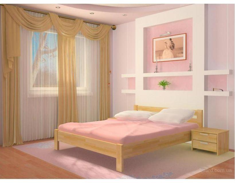 Кровать Рената 80х200см Массив Эстелла