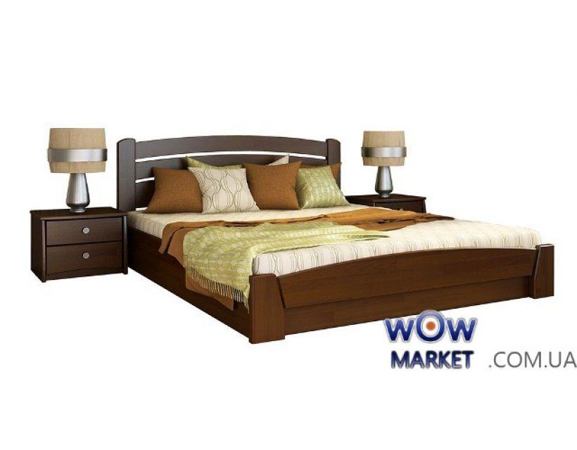 Кровать Селена Аури с подъемным механизмом 180х200см Массив Эстелла