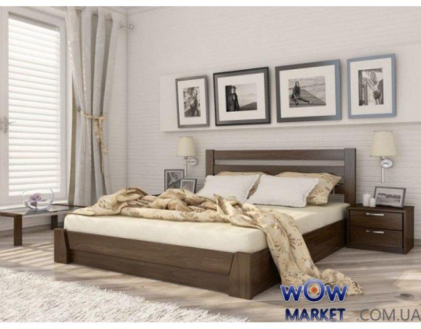 Кровать Селена с подъемным механизмом 160х200см Массив Эстелла