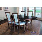 Стол раскладной Говерла-2 1200(+400)*800мм (орех темный) Микс-Мебель Карпаты