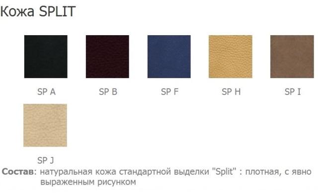 купить Кресло офисное Nova (Нова) steel CFA LB chrome Новый стиль натуральная кожа Split недорого
